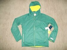 BURTON DryRide SOFT SHELL CHILL Hooded Green JACKET Mens Size MEDIUM NEW