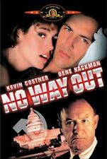 NO WAY OUT COSTNER HACKMAN DVD NEW SEALED