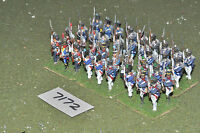 25mm napoleonic / french - old guard 36 figs painted metal - inf (7172)