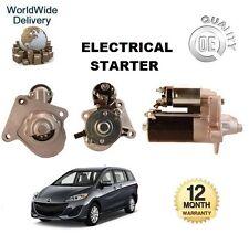 für Mazda 5 CW 1.6 CD 2010> nach NEU elektrisch Anlasser 12V 1,2 kw