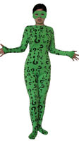 The Riddler Adult Costume Body Suit Spandex Batman Forever Villain Jim Carrey