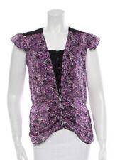 Anna Sui Silk Top, Small, Size 4