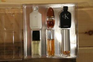 Calvin Klein 6PC Mini Gift Set For Men Eternity CKone CKbe Obsession Escape +