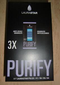 Laurastar, Kalkschutzgranulat, 1 x 3 Purify für Pulse/S7/S6/S5/S4, neu und ovp