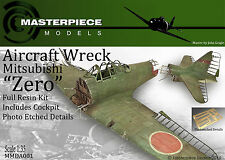 Aircraft Wreck Mitsubishi ZERO resin assembly kit