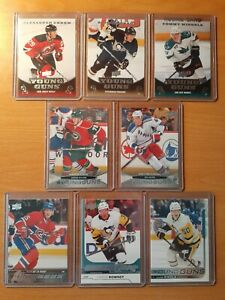 Upper Deck Young guns Various lot of 8 (see pictures)