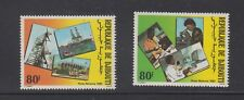 Djibouti Stamps 1985 Communications Technology Complete set MNH SCV $ 4.00