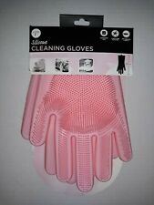 Pink Cleaning Gloves with Bristles                                 Core Kitchen