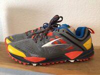 Men's Brooks Cascadia 2189 SCOTT JUREK Edition Sz 8 Limited Edition Trail Runnin
