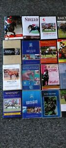 Large lot (19) Assorted Horse Racing DVDs