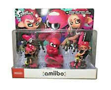 Splatoon 2 Amiibo 3-Pack Octoling Boy + Girl + Octopus NEW Nintendo Switch Wii U