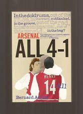 Bernard Azulay 2004 ARSENAL All 4-1 LONDON Football Soccer Club Gunners NEW Cond