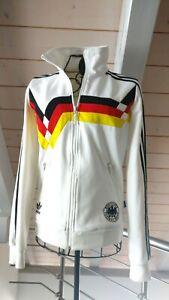 Adidas DFB WM Trainingsjacke EM Fußball Deutschland 1990 Gr XS 34 Retro FIFA