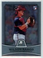 2010 Bowman Platinum #99 WILSON RAMOS RC Rookie (Nationals) NM
