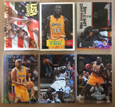 New listing Lot of 12 Shaquille Oneal cards