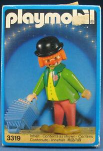 PLAYMOBIL 3319 - Zirkus Clown - Circus - 1987 - NEU - New MISB
