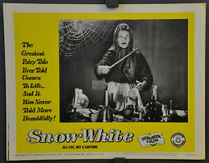 SNOW WHITE 1965 ORIGINAL 11X14 LOBBY CARD #6 DISNEY