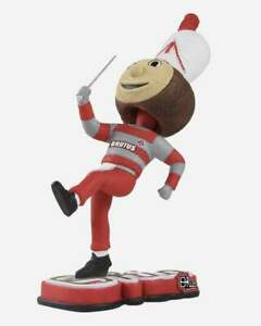 "Drum Major BRUTUS Ohio State Buckeyes Marching Band ""Script Ohio"" Bobblehead NEW"