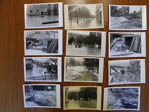 Pirna Konvolut 33 Fotokarten Überschwemmung Katastrophe