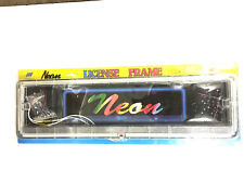 Neon   NUMBER   PLATE    LIGHTS