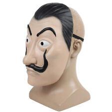 Salvador Dali Mask La Casa De Papel Mascara Face Latex Mask Cosplay Gift Party