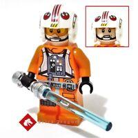 Lego Star Wars - Luke Skywalker minifigure from set 75235 & 75259