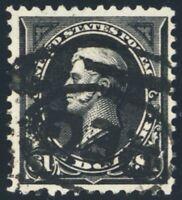 276A, Used $1 VF Perry Stamp Cat $200.00 - Stuart Katz