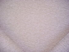 6-1/4Y KRAVET SMART 34731 OYSTER TEXTURED BAR STRAND CHENILLE UPHOLSTERY FABRIC