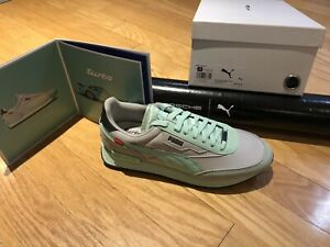 Limited Edition Porsche Turbo Puma Sneaker Size US11 With Poster