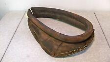 Large Antique Leather Horse Ox Mule Collar Primitive Western Decoration (B)