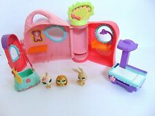 LITTLEST PET SHOP GET BETTER CENTER HOUSE VET CLINIC HOSPITAL PLAYSET LOT