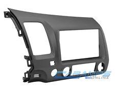 NEW CIVIC GRAY CAR STEREO RADIO SINGLE / DOUBLE 2 DIN DASH INSTALLATION TRIM KIT