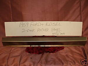 1959 Ford Edsel two door rocker panel patch panel NORS