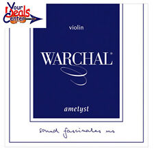 Warchal Ametyst Violin String Set 4/4 / E Ball End