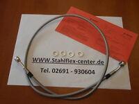 STAHLFLEX 100cm Stahlflex Bremsleitung NEU mit TÜV 1m Bremse brake hose line