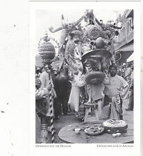 """*Postcard-""""Offerings For The Dragon"""" -ChinaTown in Los Angeles, CA. (#55)"""