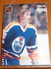 NHL official guide 1980-81 Wayne Gretzky