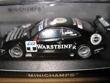 1.43 MINICHAMPS MERCEDES CLK  DTM 2000 TEAM AMG WARSTEINER #5 K LUDWIG   AWESOME