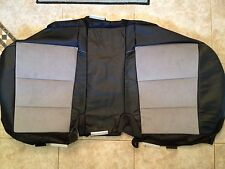 2012 Toyota Camry Factory Original Seat Cover REAR LOWER (Black Leather/Suede)