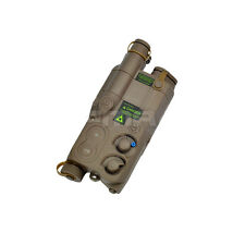 DE AIRSOFT DUMMY AN/PEQ16 BATTERY BOX CASE LIPO NIMH AEG RIS RAS RAIL PEQ 16