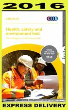 CSCS Health safety and environment test  DVD for Managers and Professionals 2016