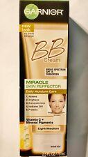 Garnier Miracle Skin Perfector BB Cream DAILY MOISTURE CARE Light/Medium 2.5 oz.