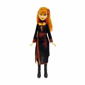 Anna Frozen Black Dress Disney Hasbro 2018 Doll Figure