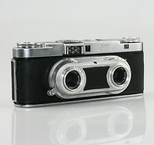 WIRGIN Edixa Stereo III Camera with f3.5/35mm Lenses & Case (KZ57)