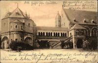 Goslar Niedersachsen AK 1904 gelaufen Partie an der Ulrich Kapelle Gesamtansicht