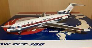 1:200 JetX Japan Air Lines JAL Boeing B727-100 JA8307 Polished Belly