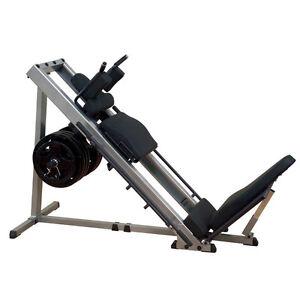 Body-Solid GLPH1100 Leg Press Hack Squat Machine - Home Gym Fitness Equipment