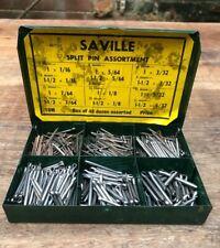 Saville Split Pin Assortment  - Various Sizes, approx 48 dozen pins.