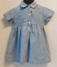 Denim Short Sleeve Dress by Class Club Baby - Size 18M