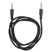 3,5mm Stereo Klinken Audio Klinke AUX Kabel Stecker für Auto iPhone MP3 Handy PC